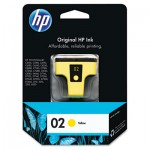 HP 02, Yellow Original Ink Cartridge HEWC8773WN