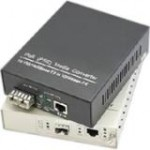 AddOn 1 10/100Base-TX(RJ-45) to 1 Open SFP Port Industrial Media Converter ADD-IFMC-FX-1SFP1