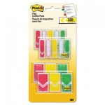 "1/2"" and 1"" Prioritization Page Flag Value Pack, Red/Yellow/Green, 320/Pack MMM682RYGVA"