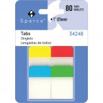 "Sparco 1"" Durable Tabs 34248"