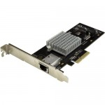 StarTech.com 1-Port 10G Ethernet Network Card - PCI Express - Intel X550-AT Chip ST10000SPEXI