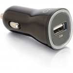 C2G 1-Port USB Car Charger, 2.4A Output 21068