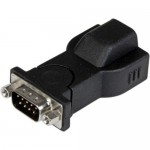 StarTech 1 Port USB to RS232 DB9 Serial Adapter with Detachable 6ft USB A to B Cable ICUSB232D
