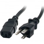 StarTech 10 ft 14 AWG Computer Power Cord - NEMA5-15P to C13 PXT1011410