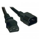 Tripp Lite 10-ft. 18AWG Power cord (IEC-320-C14 to IEC-320-C13) P004-010