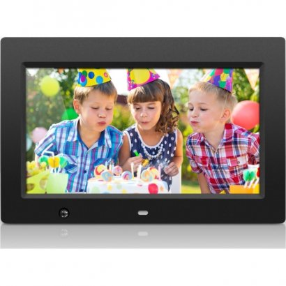 Aluratek 10 inch Digital Photo Frame with Motion Sensor and 4GB Built-in Memory ADMSF310F