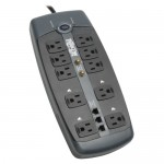 Tripp Lite 10 Outlets Surge Suppressor TLP1008TELTV