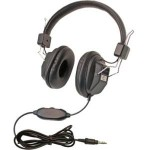 Califone 10 Pack Kids Headphone 1534BK-10L
