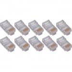 4XEM 100PK Cat5e RJ45 Ethernet Plugs/Connectors 4X100PKC5E