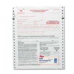 Tops 1096 IRS Approved Tax Forms, 8 x 11, 2-Part Carbon, 10 Contin Forms TOP2202