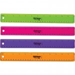 "OIC 12"" Flexible Plastic Ruler 30209"