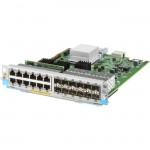 HP 12-port 10/100/1000BASE-T PoE+ / 12-port 1GbE SFP MACsec v3 zl2 Module J9989A
