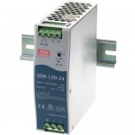 B&B 120W Single Output Industrial Din Rail With PFC Function SDR-120-24