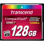 Transcend 128GB 800x Premium Compact Flash Card TS128GCF800