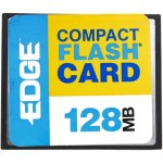 Edge 128MB Digital Media CompactFlash Card PE179465