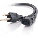 C2G 12ft 18 AWG Universal Power Cord (NEMA 5-15P to IEC320C13) 53406