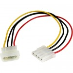 StarTech 12in Molex LP4 Power Extension Cable - M/F LP4POWEXT12