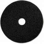 "13"" Black Floor Stripping Pad 90213"