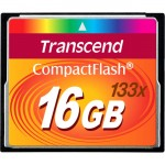 Transcend 16GB CompactFlash (CF) Card - 133x TS16GCF133