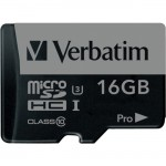 16GB Pro 600X microSDHC Memory Card with Adapter, UHS-I U3 Class 10 47040