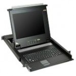"17"" 16-port LCD KVM for SMB CL1016M"