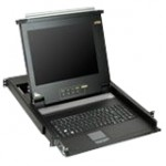"Aten 17"" 8-port LCD KVM for SMB CL1008M"