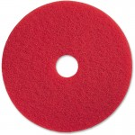 "17"" Red Buffing Floor Pad 90417"