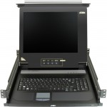 "Aten 17"" Single-Rail LCD Integrated Console CL1000M"