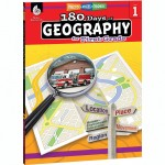 Shell Education 180 Days of Geography Resource 28622