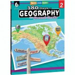 Shell Education 180 Days of Geography Resource 28623