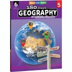 Shell Education 180 Days of Geography Resource 28626
