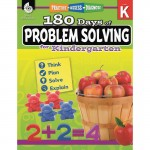 Shell 180 Days of Problem Solving for Kindergarten 51612