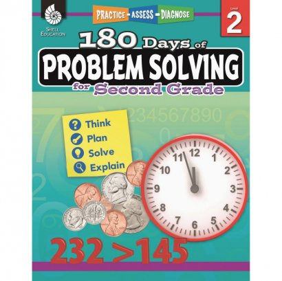 Shell 180 Days of Problem Solving for Second Grade 51614