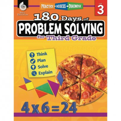 Shell 180 Days of Problem Solving for Third Grade 51615