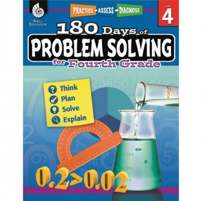 Shell 180 Days of Problem Solving for Fourth Grade 51616
