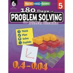 Shell 180 Days of Problem Solving for Fifth Grade 51617