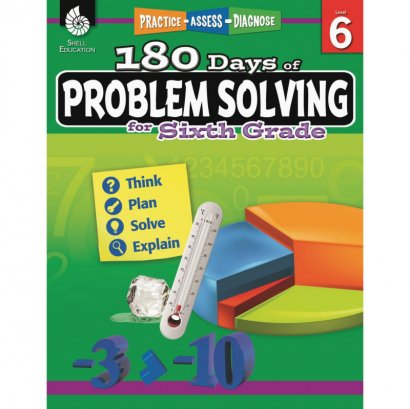 Shell 180 Days of Problem Solving for Sixth Grade 51618