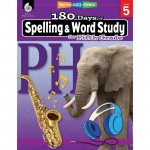 Shell Education 180 Days Spelling/Study Workbook 28633
