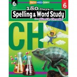 Shell Education 180 Days Spelling/Study Workbook 28634