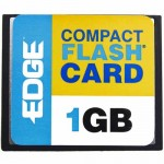 Edge 1GB Digital Media CompactFlash Card PE188993