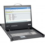 "Tripp Lite 1U Rack-Mount Console with 19"" LCD, DVI or VGA B021-000-19-HD"