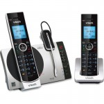 Vtech 2 Handset Connect to Cell Answering System with Cordless Headset DS67713