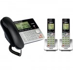 Vtech 2 Handset Cordless/Cordless Answering System with Dual Caller ID/Call Waiting CS6949-2