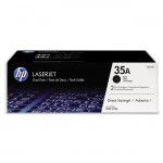 HP 2-pack Black Original LaserJet Toner Cartridges CB435D