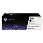 HP 2-pack Black Original LaserJet Toner Cartridges CB436D