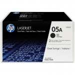 HP 05A 2-pack Black Original LaserJet Toner Cartridges CE505D