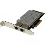 StarTech.com 2-Port PCI Express 10GBase-T Ethernet Network Card - with Intel X540 Chip ST20000SPEXI