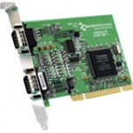 Brainboxes 2-port Universal PCI Serial Adapter UC-357