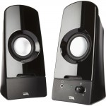 Cyber Acoustics Sonic 2.0 Powered Speaker System CA-2050
