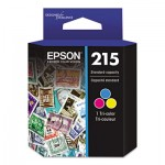 Epson (215) DURABrite Ultra Ink, Tri-Color EPST215530